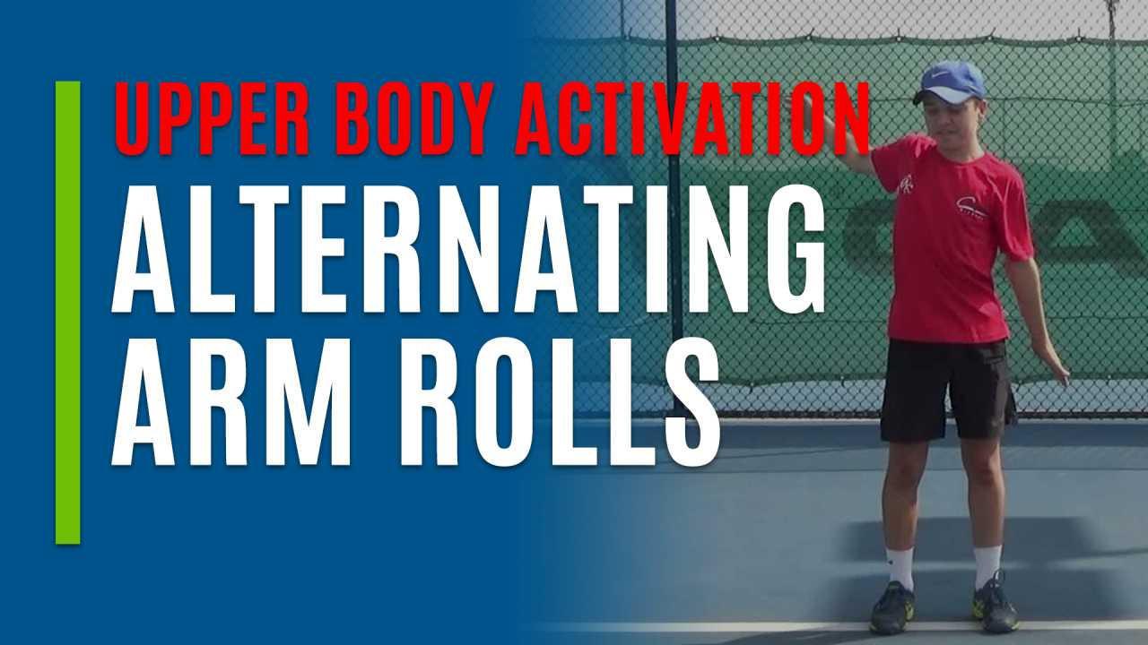 Alternating Arm Rolls