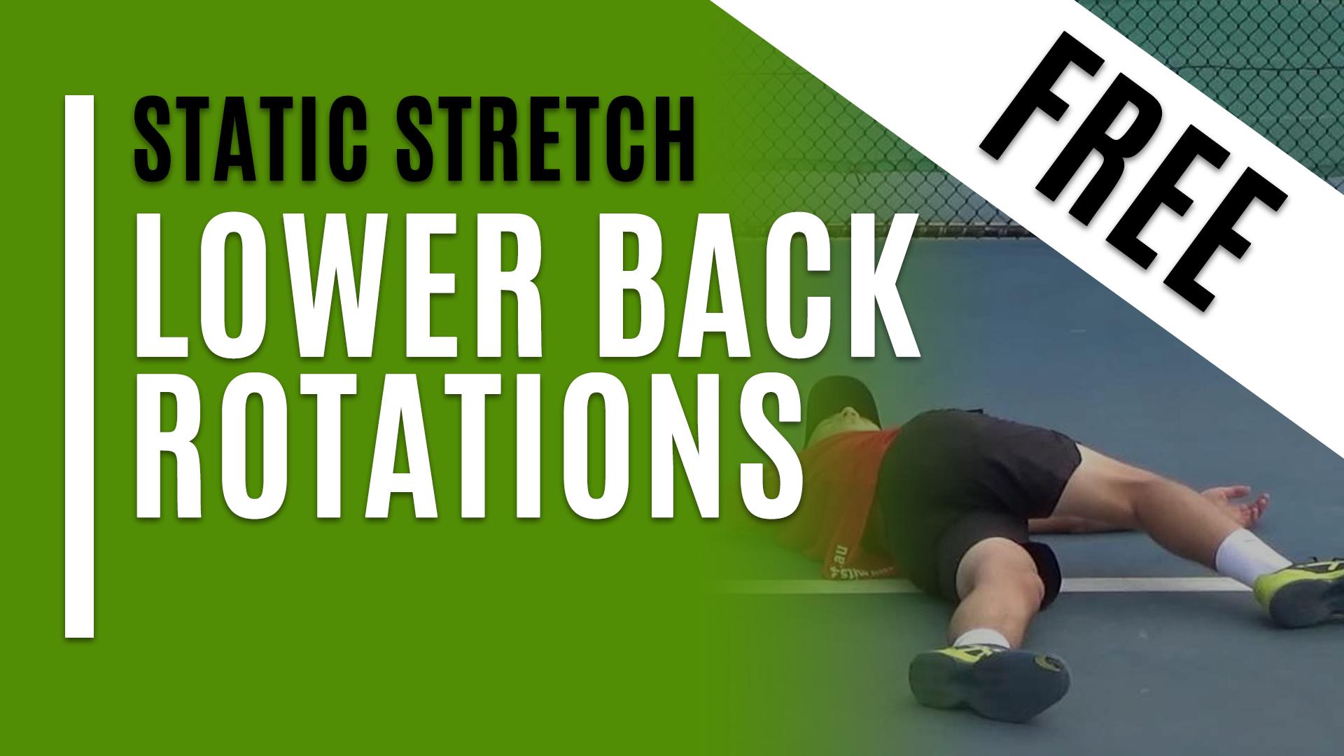 Lower Back Rotations