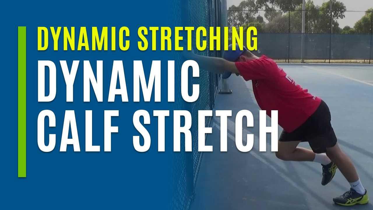 Dynamic Calf Stretch