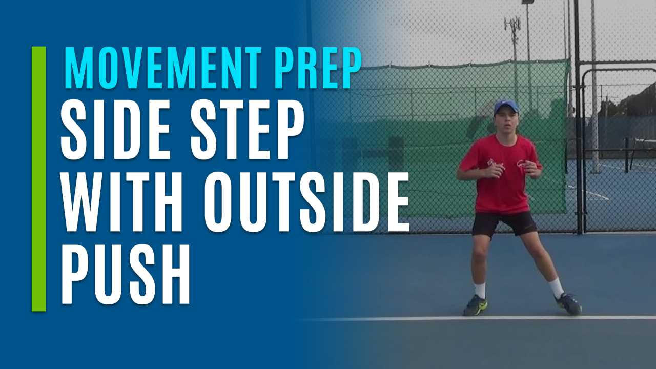 Side Step with Outside Push