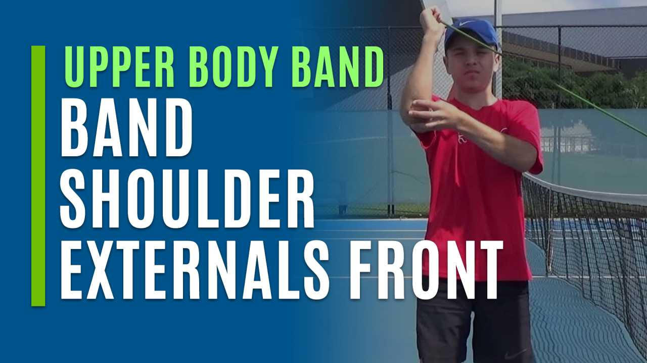 Band Shoulder Externals Front