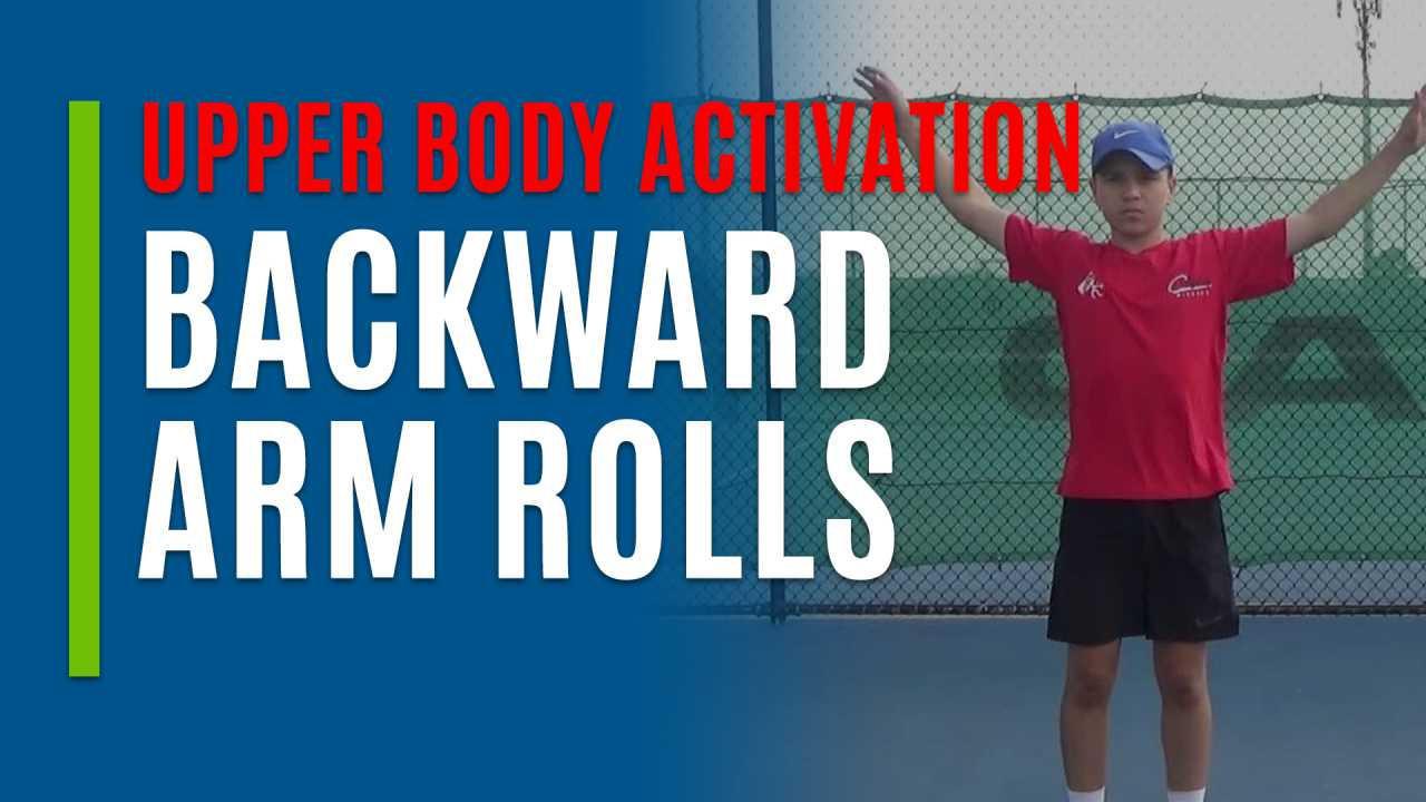 Backward Arm Rolls