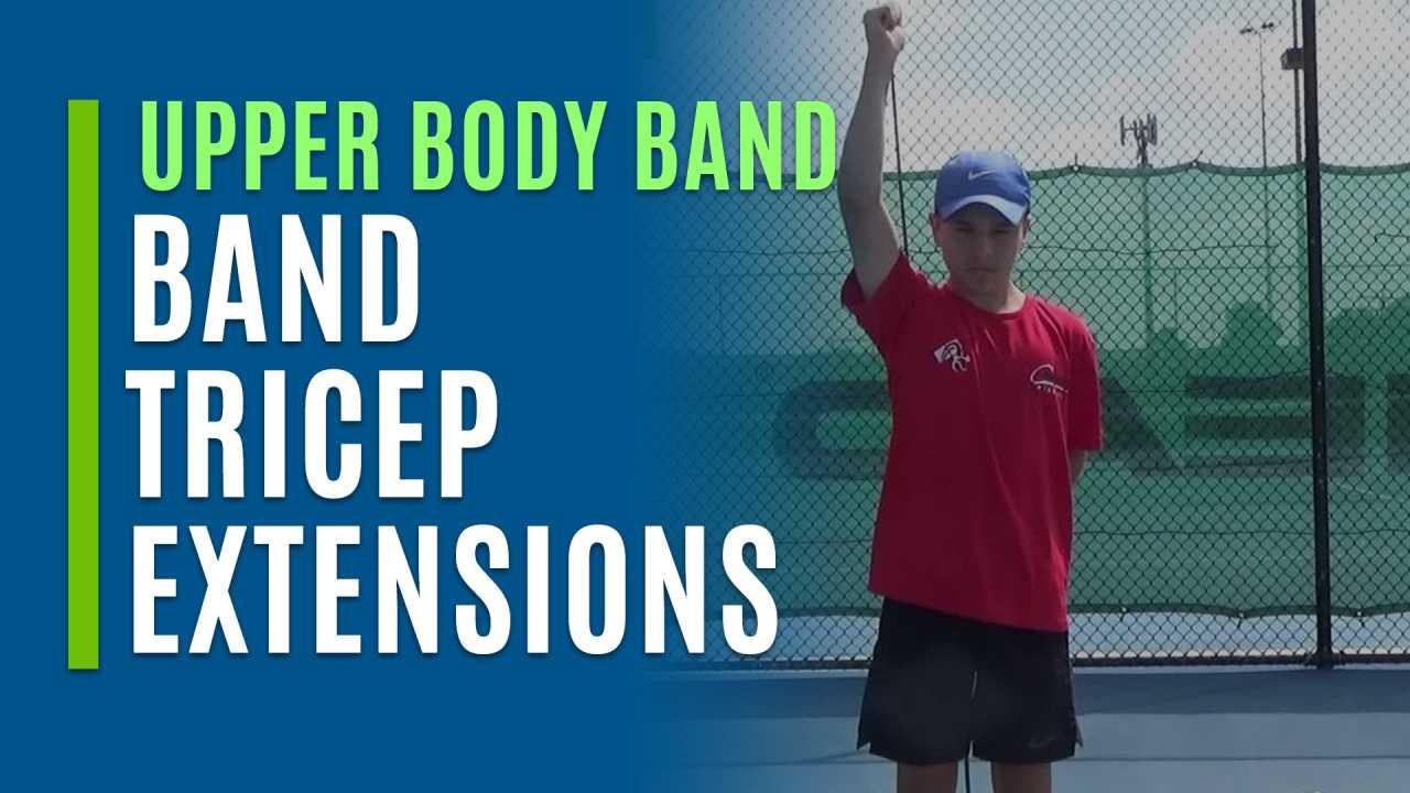 Band Tricep Extensions