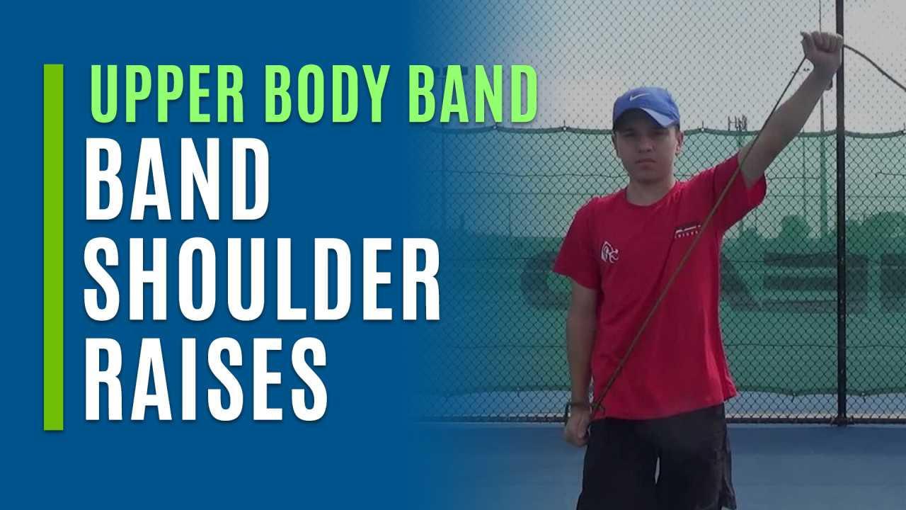 Band Shoulder Raises