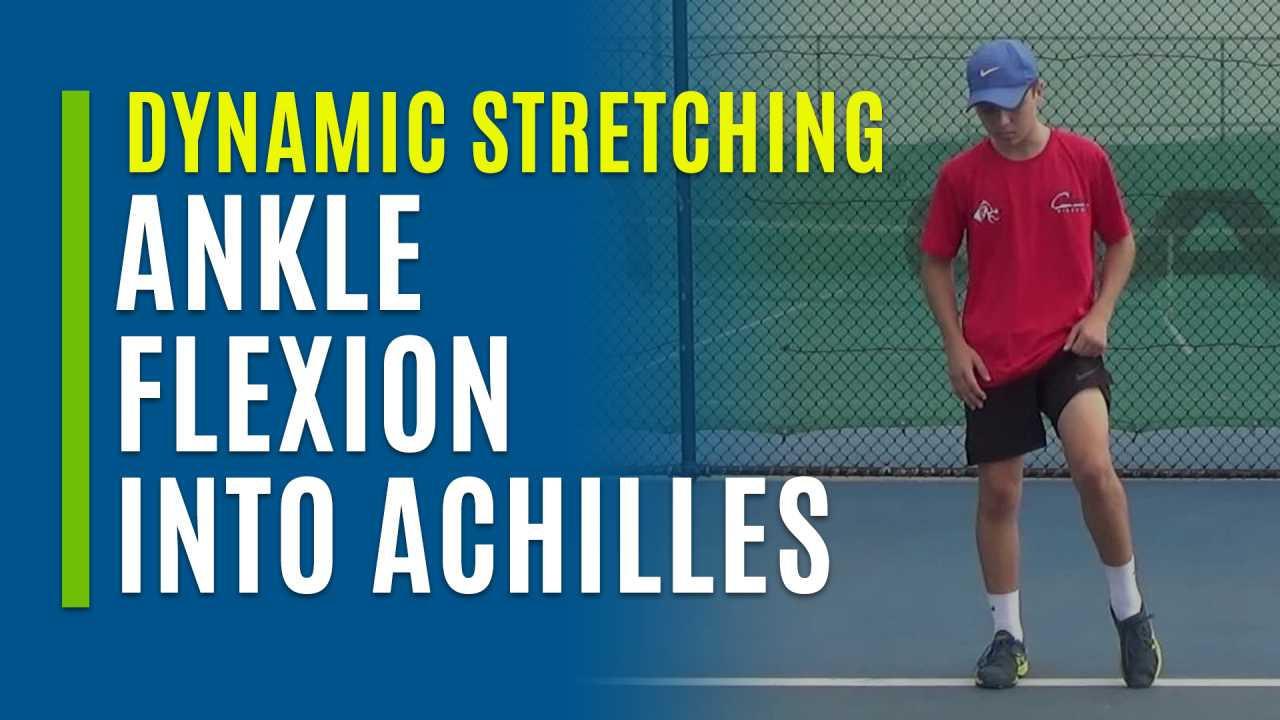Ankle Flexion into Achilles