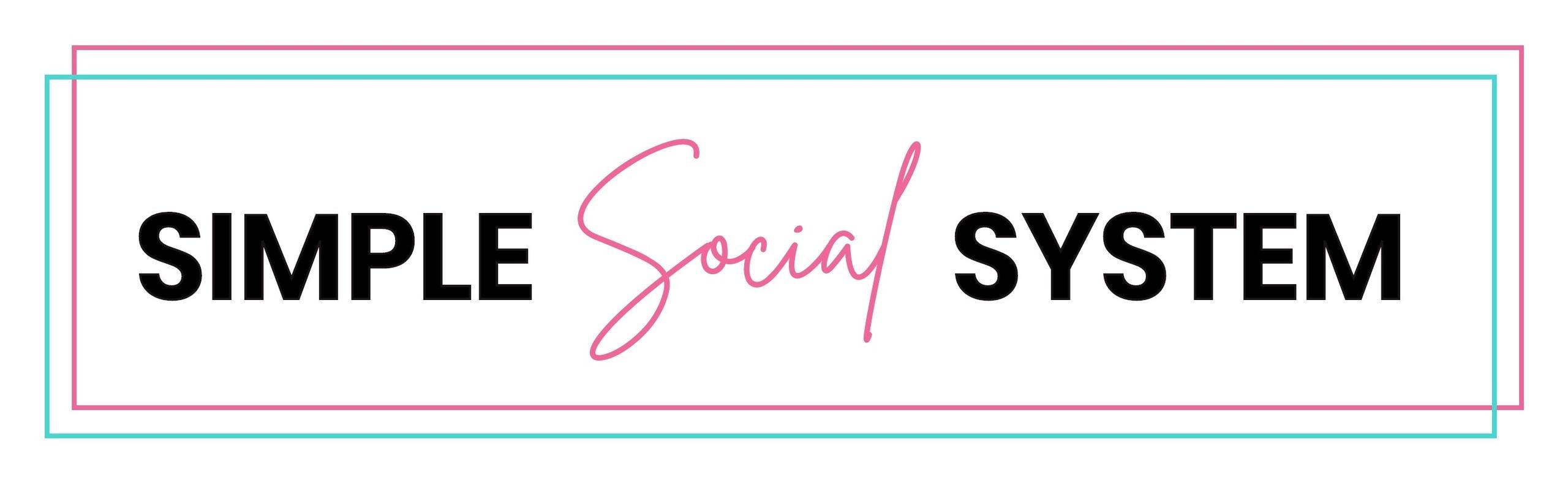 Simple Social System