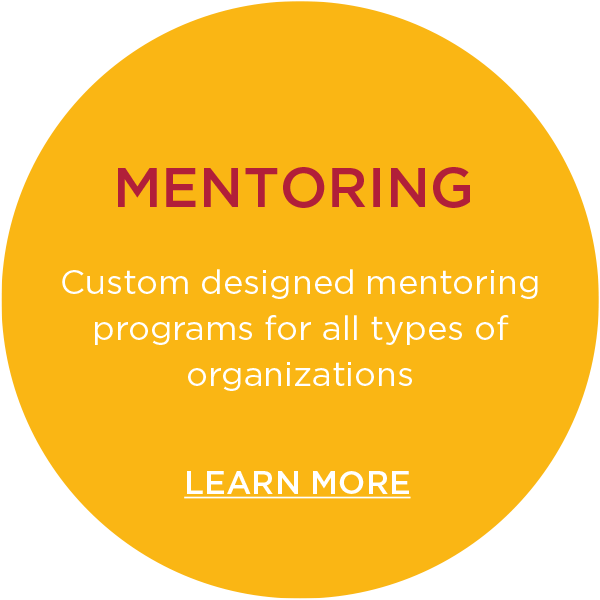 Custom designed mentoring programs learn more button