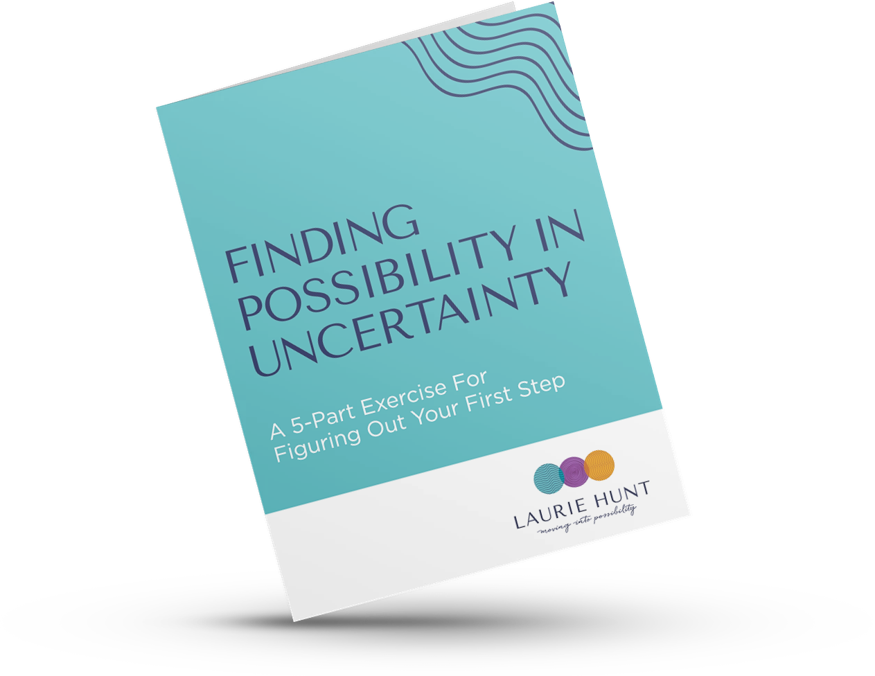 Finding Possibility In Uncertainty Mockup of Workbook