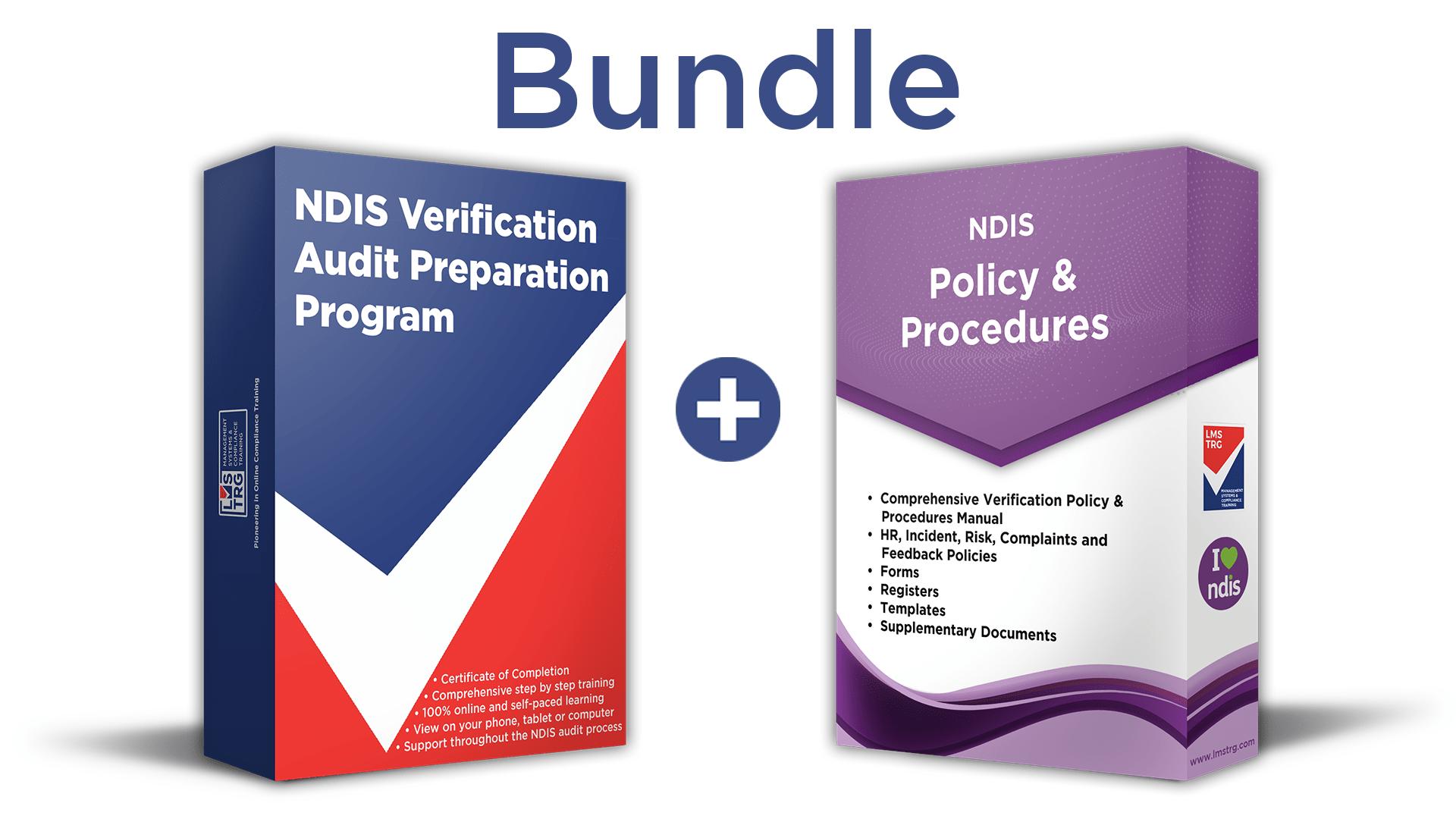NDIS Verification Bundle NDIS Registration Training and Template
