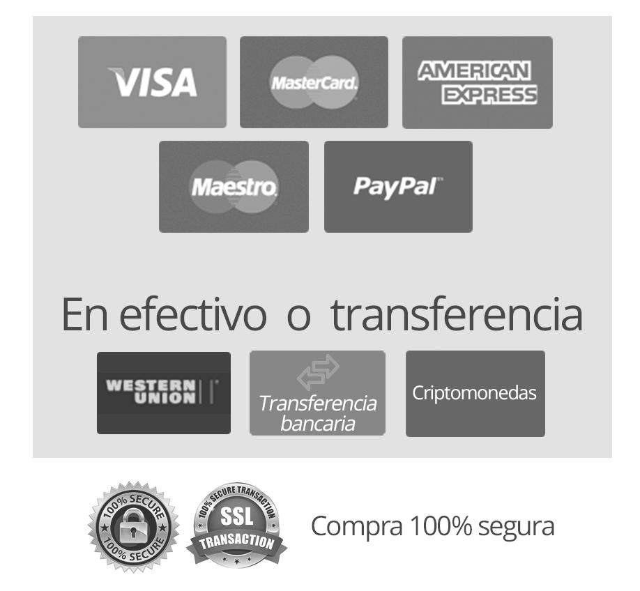 Formas de pago para comprar los cursos online de Javier Galué - Javi Galué - OBS- Zoom - Youtube - Hablar a la Cámara - Neurocomunicación - Habilidades de Comunicación - Comunica y Conecta