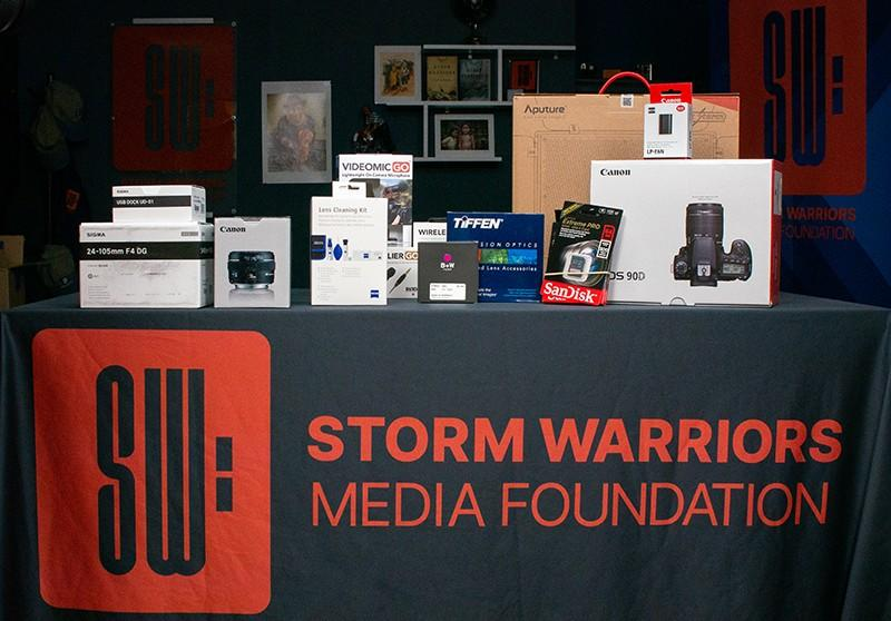Storm Warriors Media Foundation: Learn how to operate various kinds of production equipment