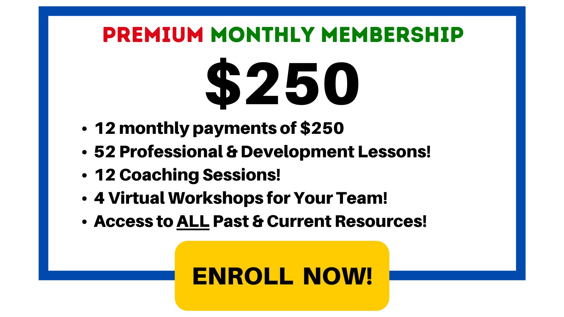 $250 / month