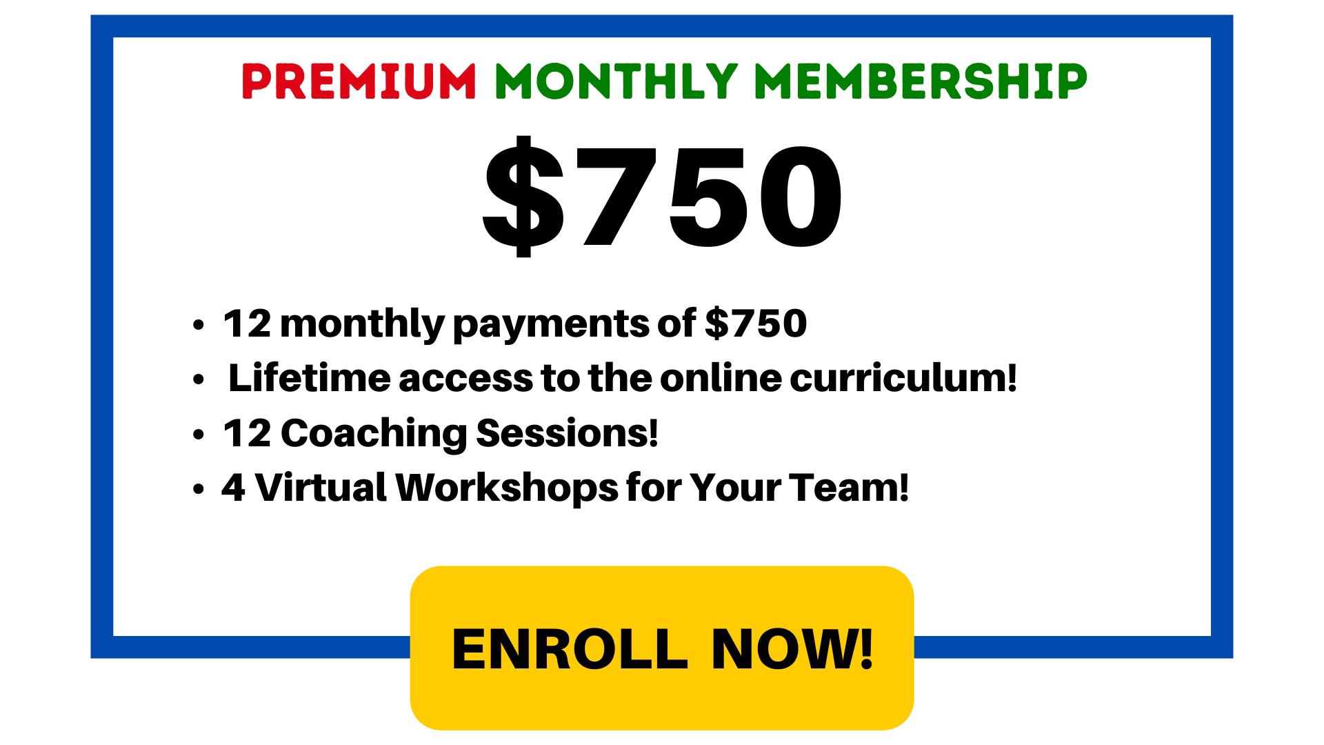 $750 / month