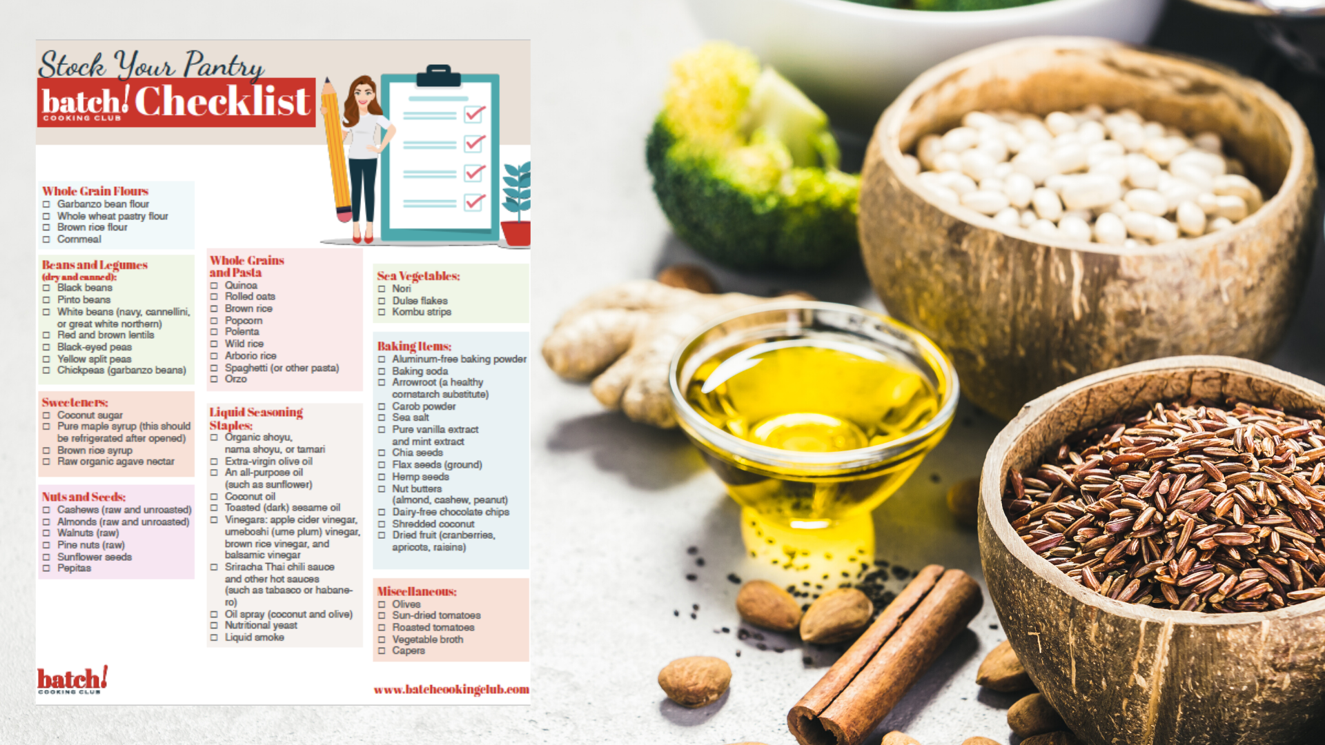 Stock Your Pantry Checklist
