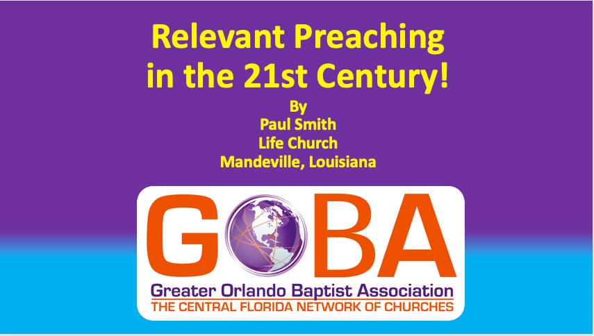 Relevant Preachingin the 21st Century PowerPoint