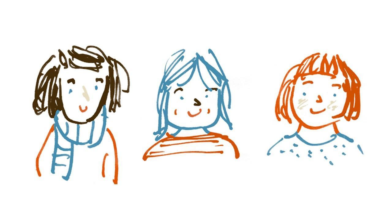 Helen, Tania, Katie