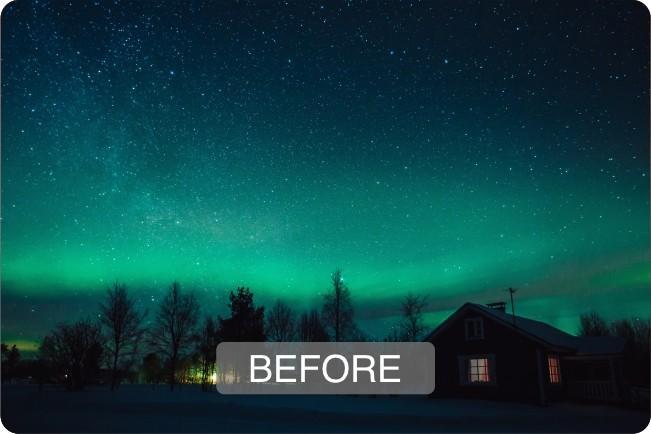 photoshop aurora brush