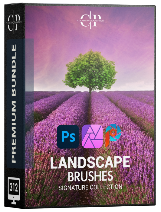 signature landscape brushes