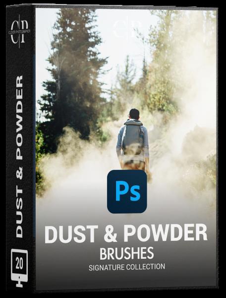dust powder brushes