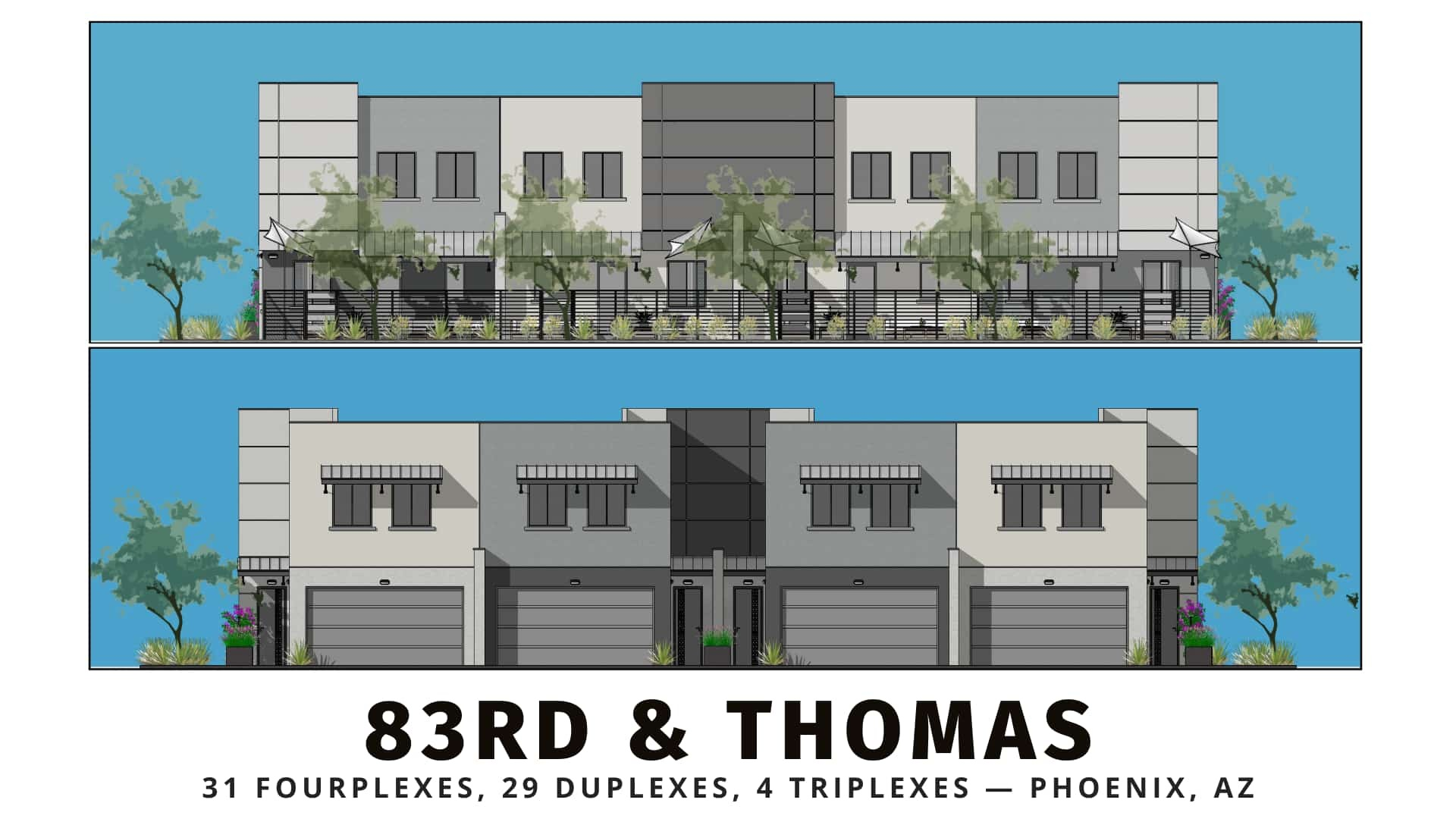 83rd & Thomas build-to-rent community