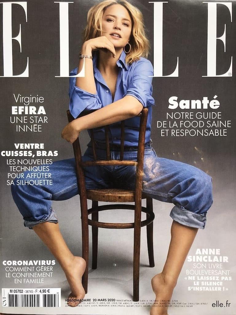 magazine ELLE mars 2020 lisa salis