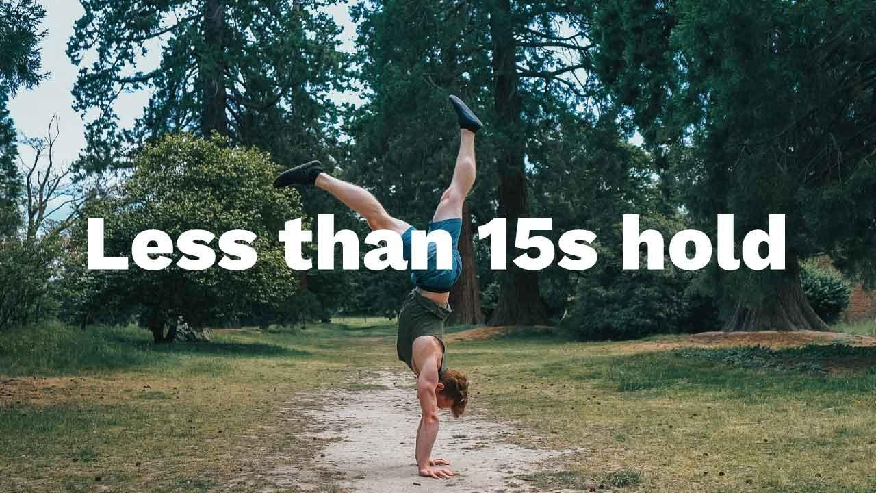 Handstand Toolkit Free Less than 15s handstand