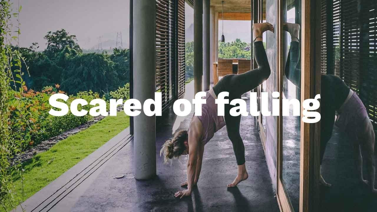 Free Handstand Toolkit Scared of falling