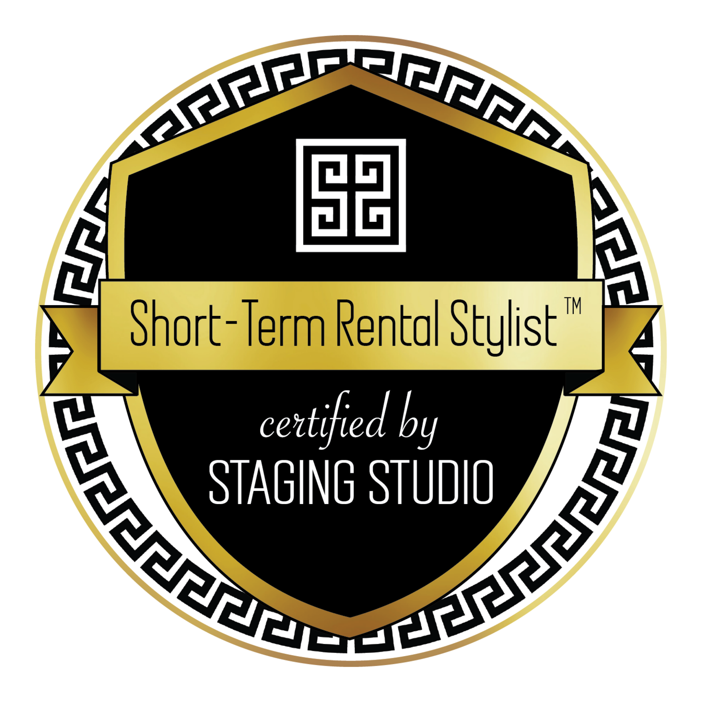 Short-Term Rental Stylist Badge