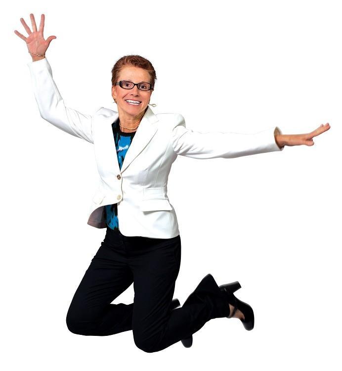 Dr. Jo speaker jumping