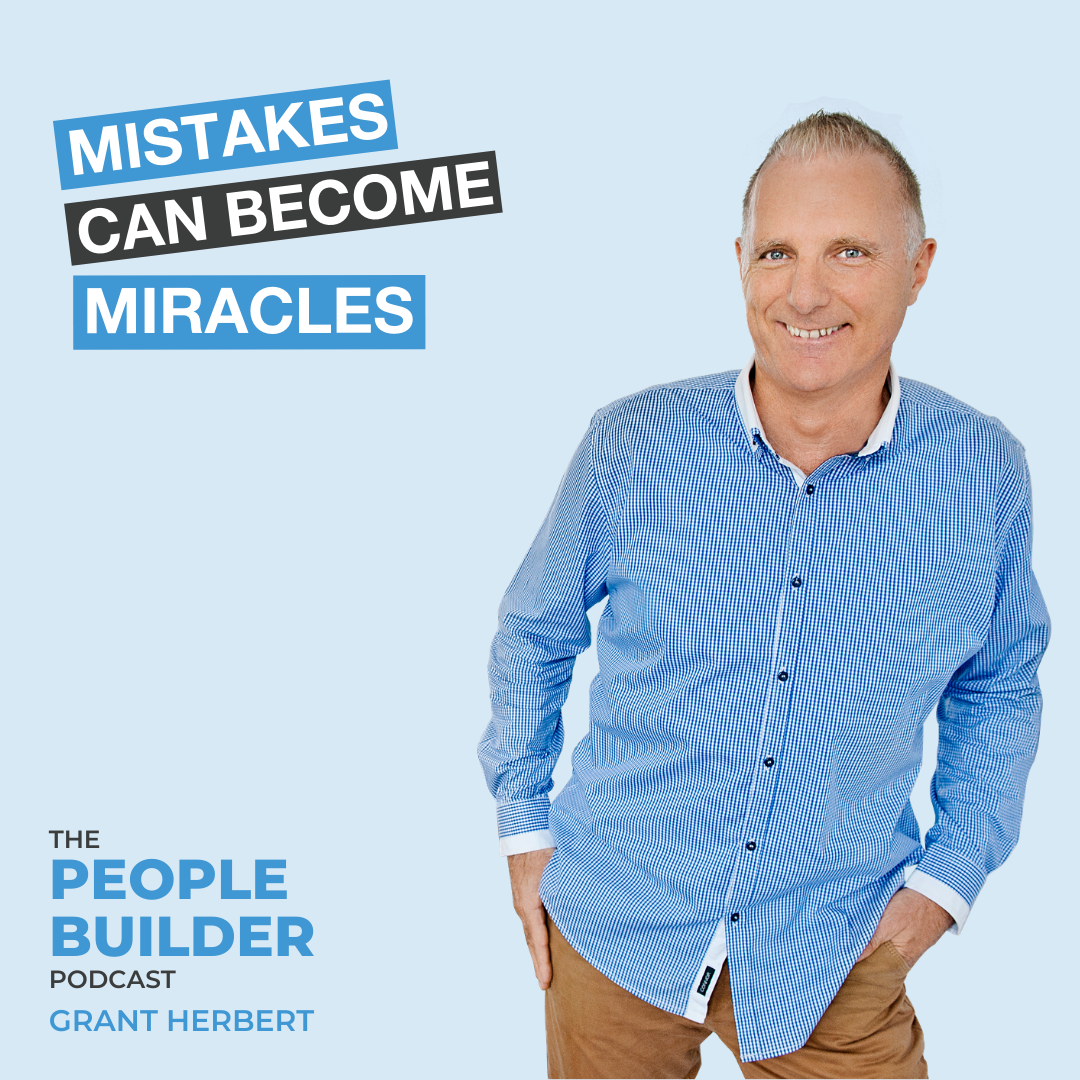 Learn how you can turn your mistakes to miracles by listening to this podcast