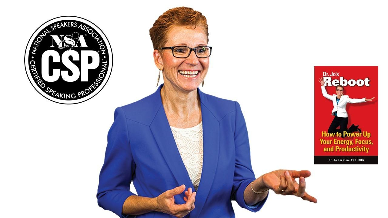 picture of speaker Dr Jo