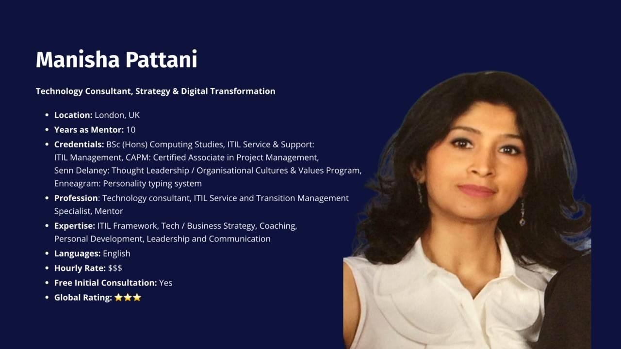 Manisha Pattani