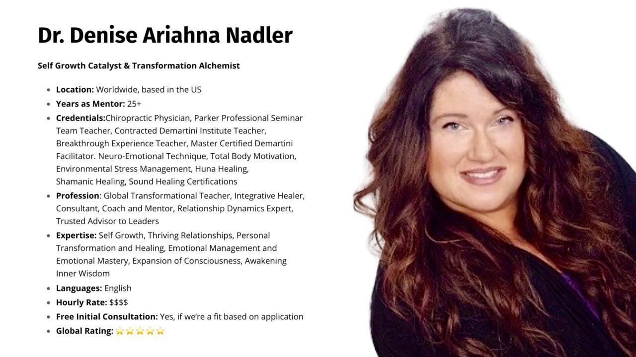 Dr. Denise Nadler