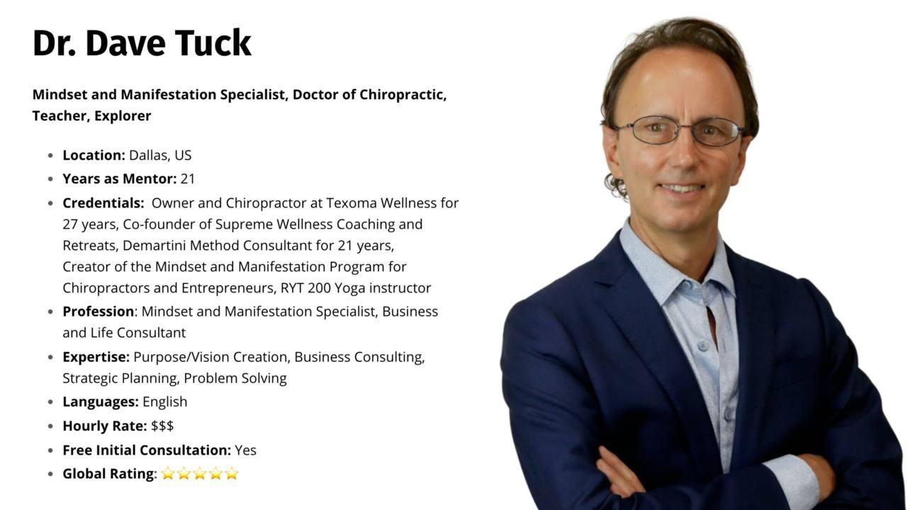 Dr. Dave Tuck