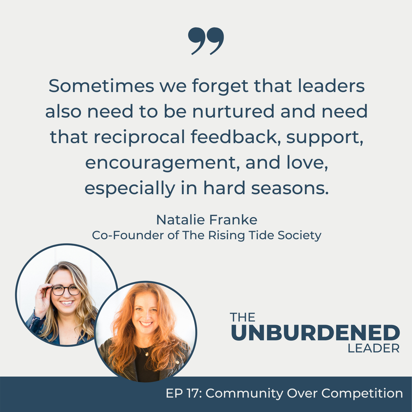 Community Over Competition with Co-Founder of The Rising Tide Society Natalie Franke