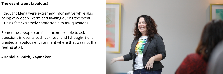 Elena Joy Thurston at TedX Colorado Springs speaking on her post Mormonism life as an open, lesbian woman.