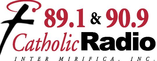 Catholic radio logo, resilience during COVID-19