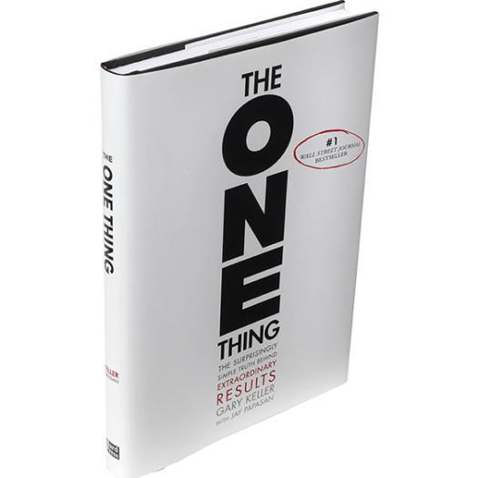 photo of the one thing book by Gary Keller & Jay Papasan