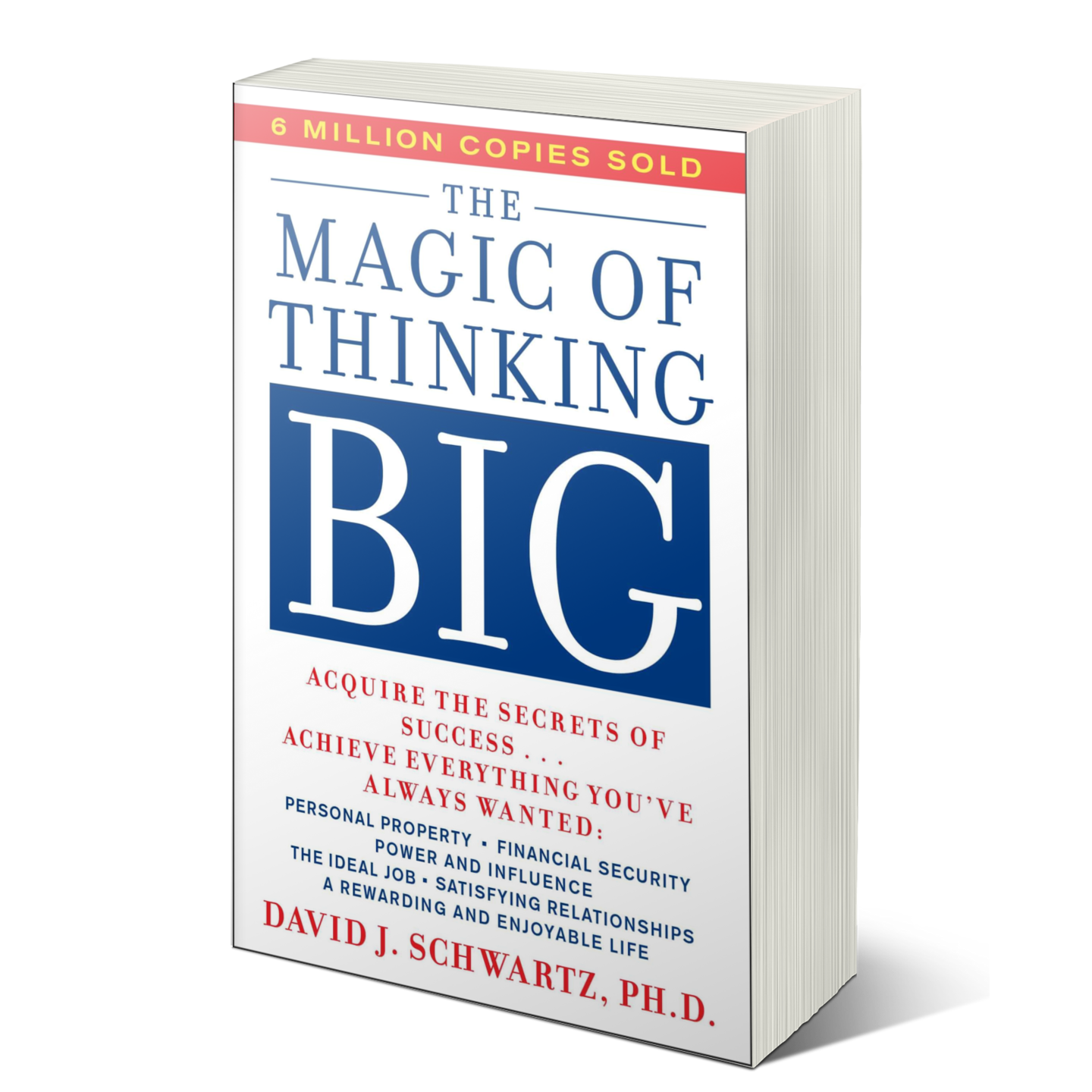 photo of the magic of thinking big book by david schwartz
