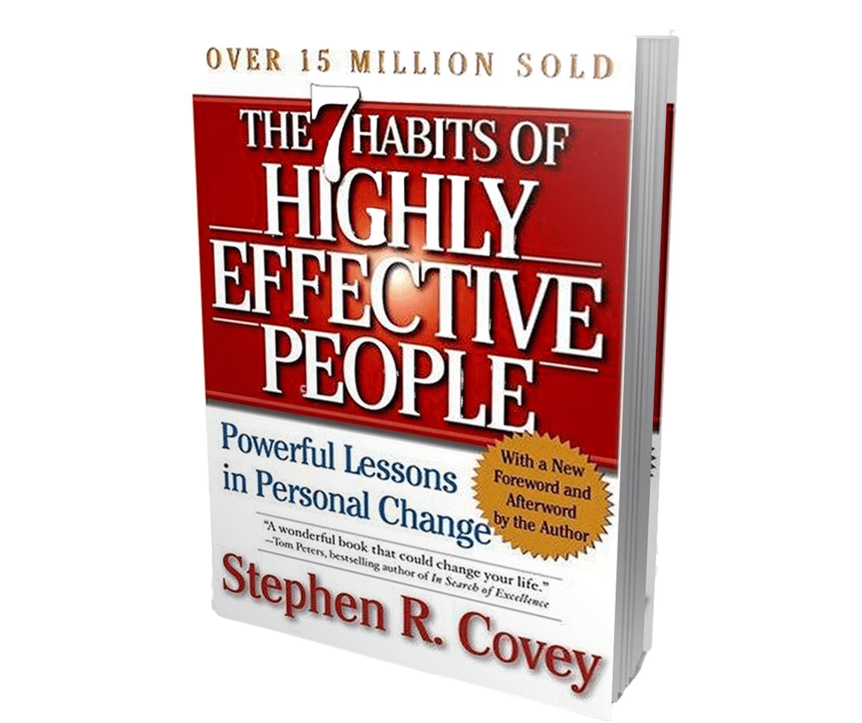 photo of the 7 habits of highly effective people book by stephen covey