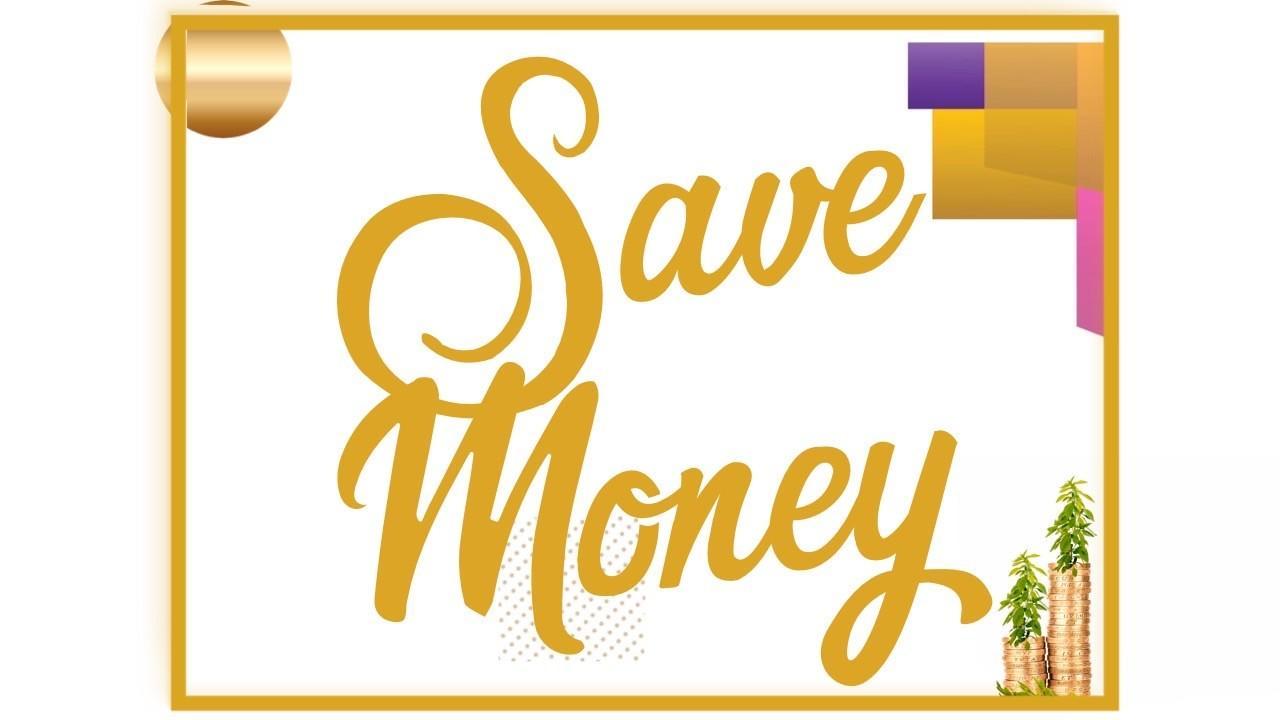 Save money branding and marketing