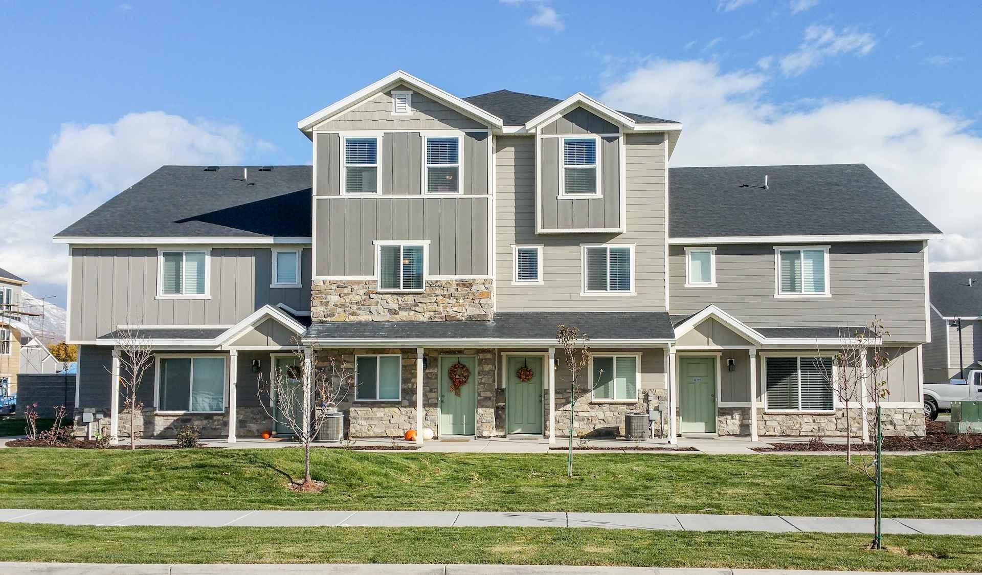 Village at Brickyard, fourplex development in Boise Valley