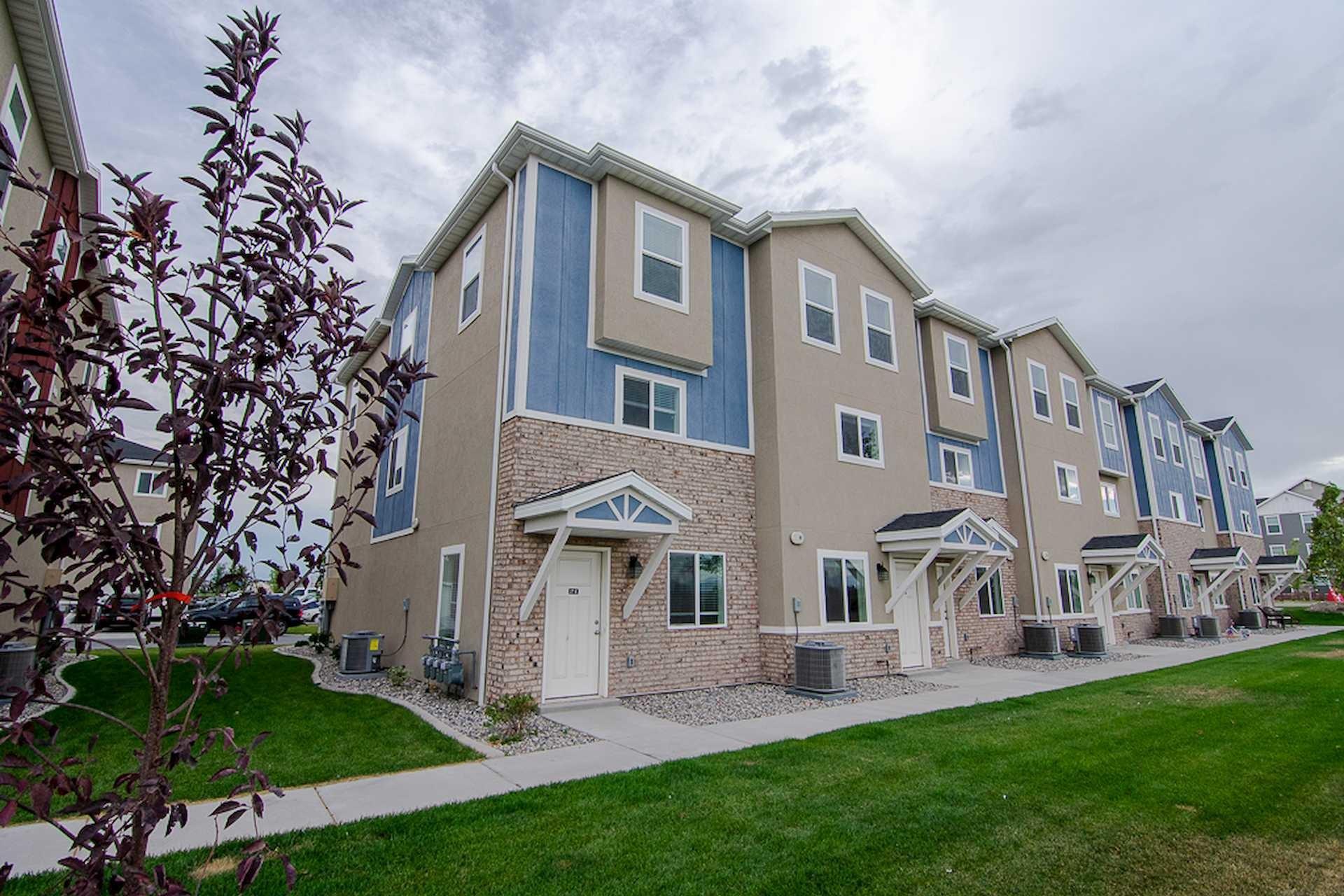 A FIG fourplex development in Utah County