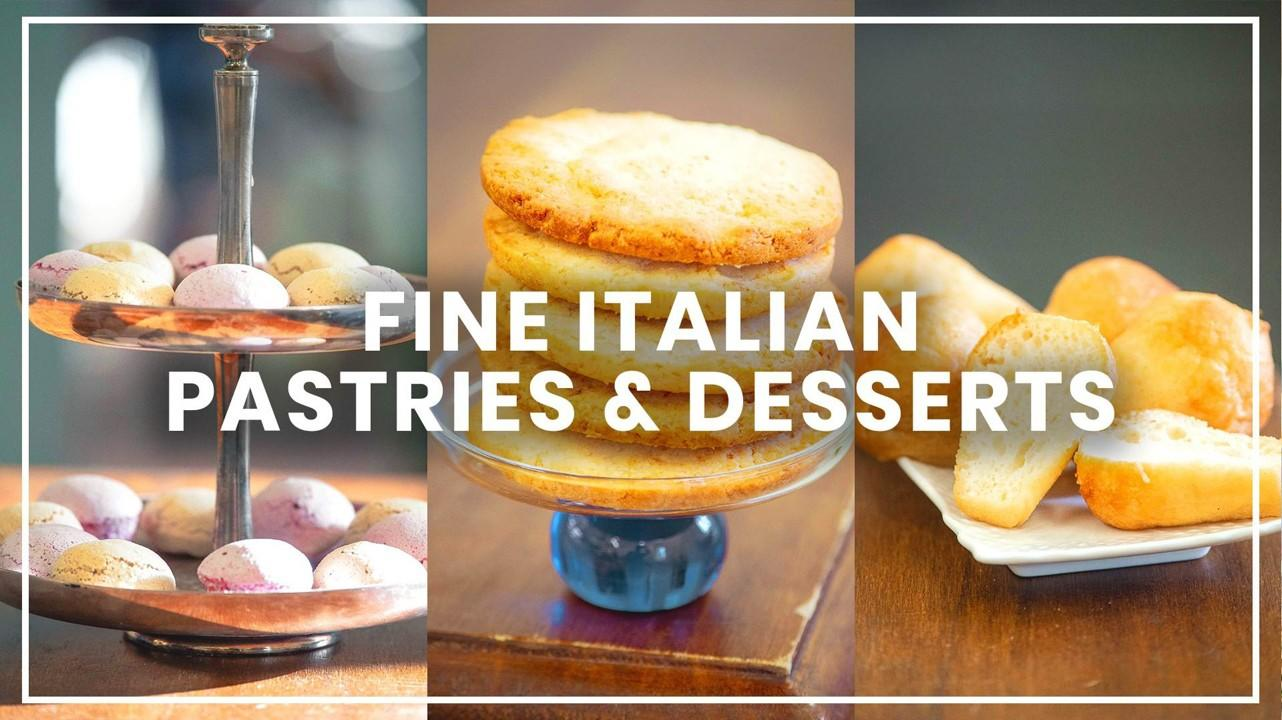 fine italian pastries and desserts is one of veecoco vegan cooking classes