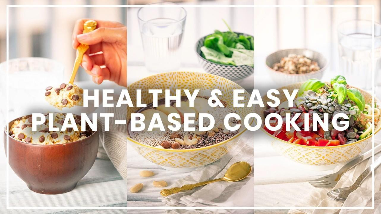 healthy and easy plant-based cooking classes