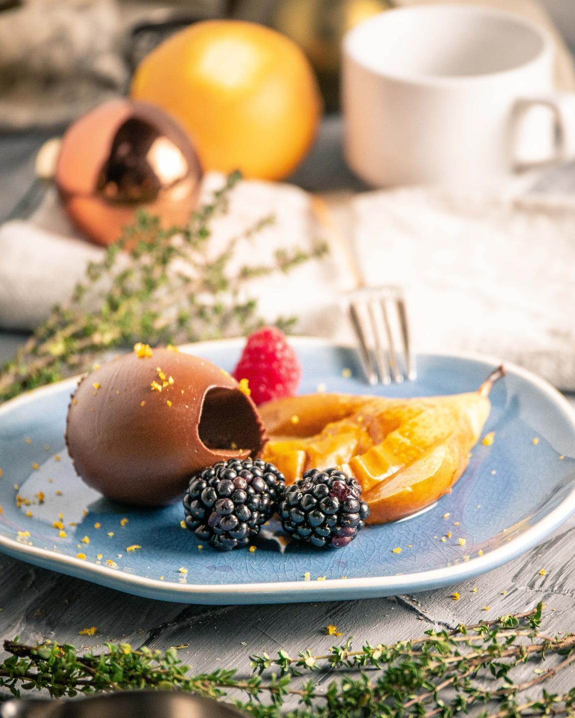 vegan dessert made on a free veecoco online vegan cooking courses