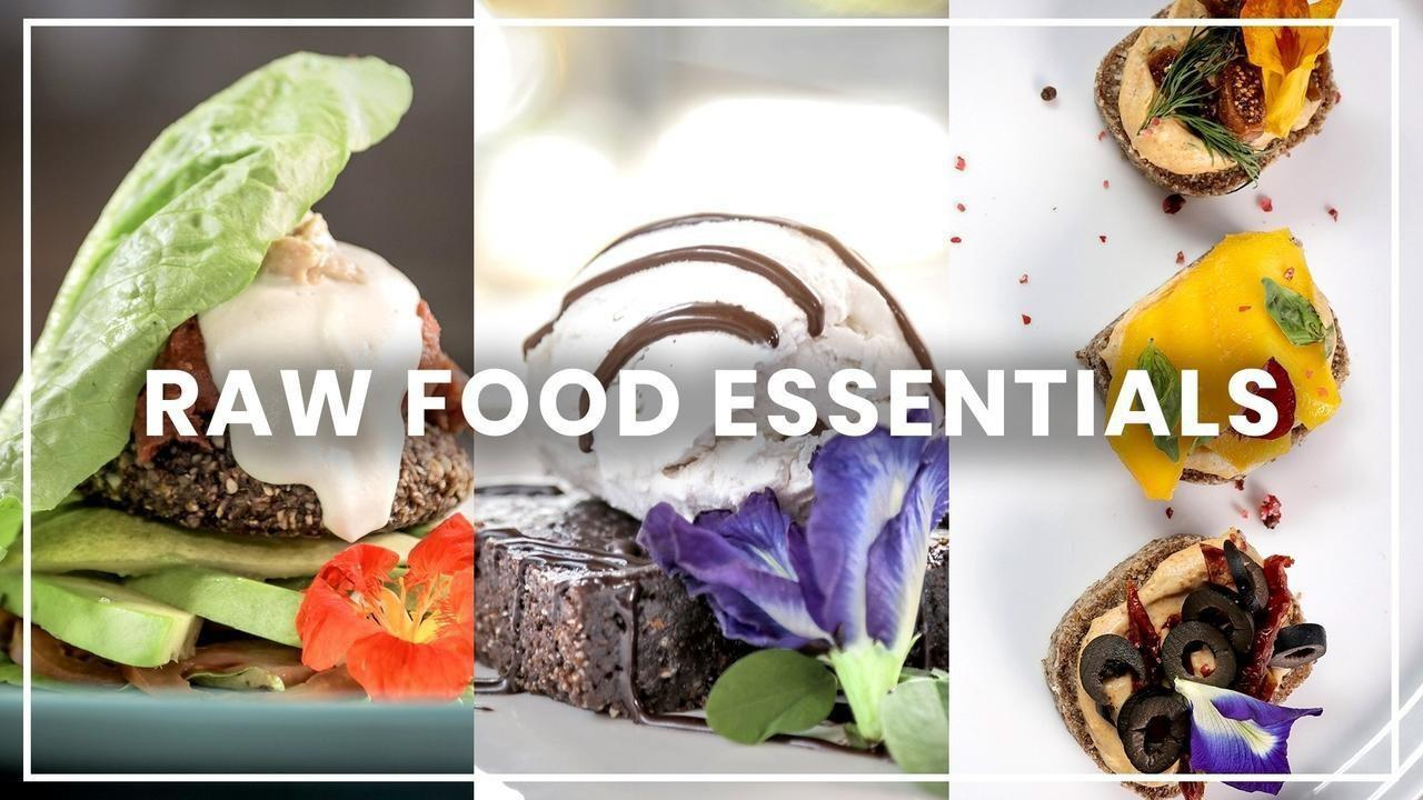 raw food essentials cooking classes