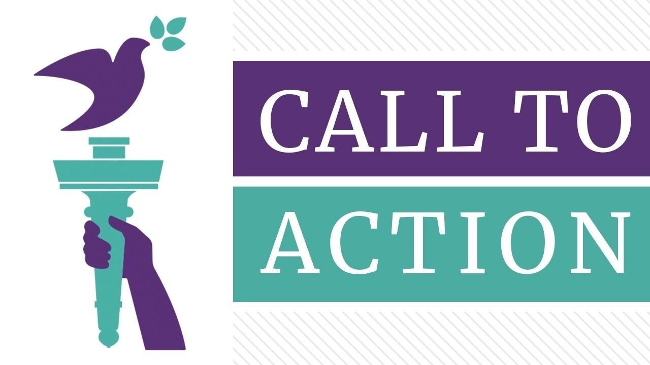 Call to Action with MWEG torch
