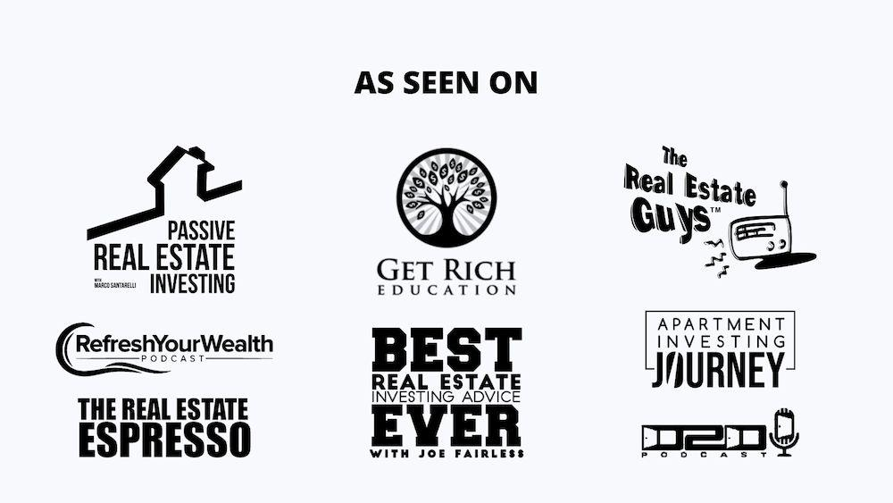 All of the Multifamily Real Estate Podcasts that FIG Fourplex Investment Group has been featured in