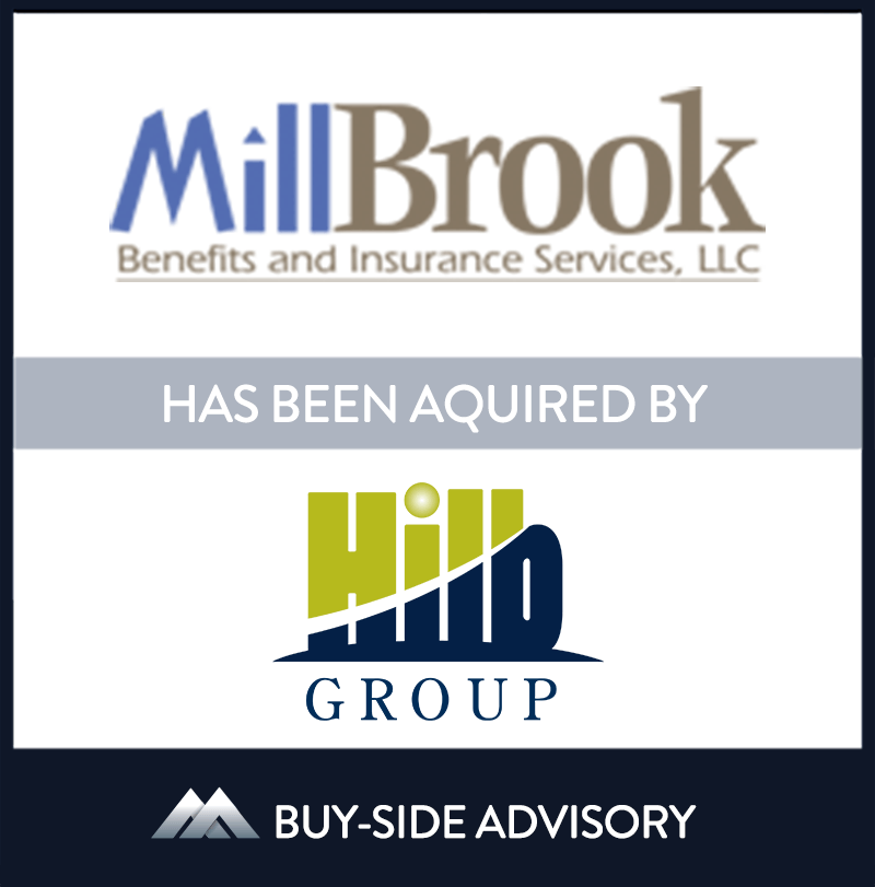 The Hilb Group (Hilb) acquired Massachusetts-based MillBrook Benefits & Insurance Services, LLC (MillBrook), which will expand Hilb's presence in New England. The transaction became effective July 28th, 2021. Established in 2002, MillBrook provides employers with the design, implementation, and management of employee benefits and other programs to help companies retain talent. MillBrook's founder Pete Miller will continue to lead the business and work with Hilb to grow its presence in the New England area and nationwide.   MillBrook Benefits & Insurance Services LLC., The Hilb Group, 28 Jul 2021, Longmeadow - Massachusetts, Insurance & Financial Services
